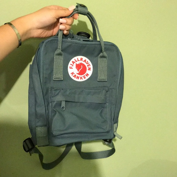 21520a47822 Fjallraven Kanken Mini Backpack Forest Green